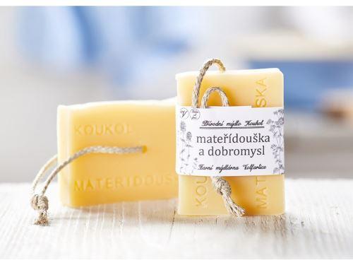 Přírodní mýdlo Koukol - MATEŘÍDOUŠKA A DOBROMYSL