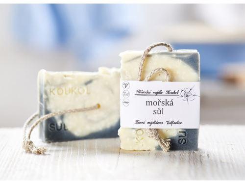 Přírodní mýdlo Koukol - MOŘSKÁ SŮL