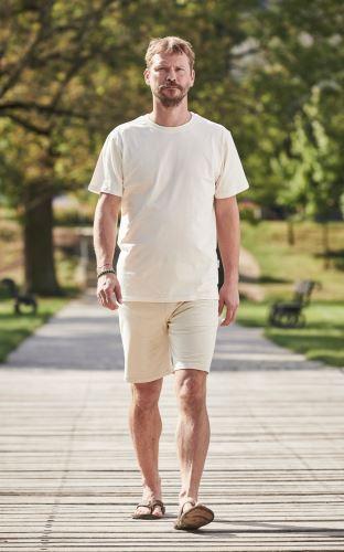 Pánské BIO pyžamo krátké