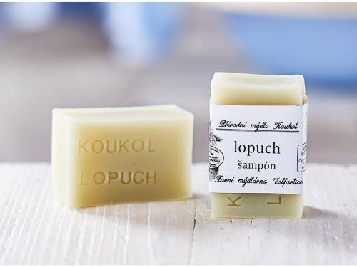 Přírodní mýdlo Koukol - LOPUCH ŠAMPÓN