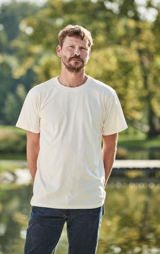 Pánské bio tričko NATUR - Krátký rukáv