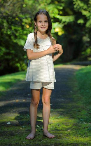 Dívčí pyžamo krátké