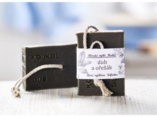 Přírodní mýdlo Koukol - DUB A OŘEŠÁK