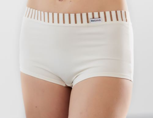 Dámské bio kalhotky s proužkem