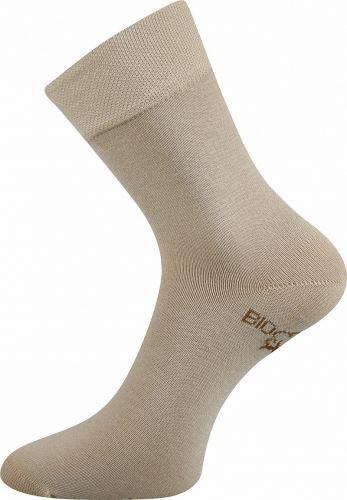 Ponožky z biobavlny béžové